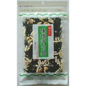 0303006 味噌汁の具 朝の汁 40g×20袋