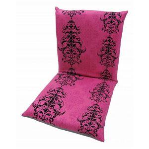 3544ZS ゴシックプリントS座椅子 ピンク