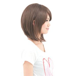 Vivir(ヴィヴィエ) ファッション ウィッグ リッチミディアム WWW-00017 プラチナムブラウン