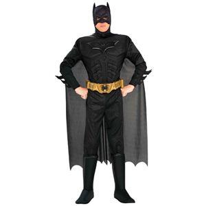 BATMAN(バットマン) コスプレマスク Adult Dx. Batman Dark Knight(アダルト バットマン ダーク ナイト) Lサイズ