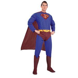 SUPERMAN(スーパーマン) コスプレマスク Adult Dx. Superman(アダルト スーパーマン) Lサイズ
