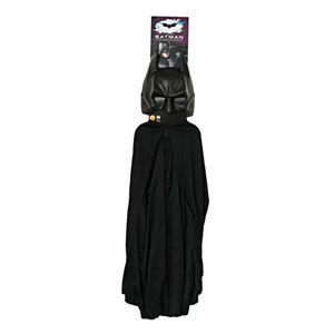 RUBIE'S(ルービーズ) BATMAN(バットマン) コスプレ Child Batman Cape & Mask Set(バットマン 肩マント & マスク セット)
