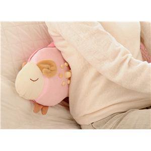 おやすみ羊 つぼ押しピロー 腰 ピンク