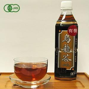 海東ブラザース 烏龍茶(ウーロン茶) 有機JAS認定商品 無添加・無着色・無香料 【500ml×48本】