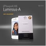 iPhone4S/iPhone4 LUMINOUS-A PREMIUM PROTECTION FILMプレミアム液晶保護フィルム