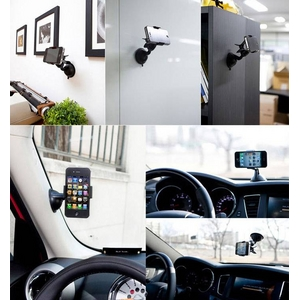 World Best Universal Car Mount [ White ] デスク、車、どこでも使える