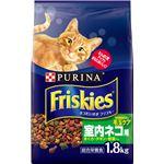 (まとめ)ネスレ フリスキードライ 室内ネコ用 1.8Kg (猫用・フード)【ペット用品】【×6 セット】