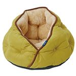 Cuna(クーナ) ドームベッド オリーブ【ペット用品】【猫ベッド】の詳細ページへ