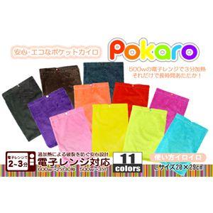 電子レンジ対応 エコカイロ POKARO(ポカロ) Lサイズ ブラック
