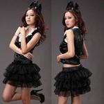 コスプレ 2011新作 パニエ スカートの可愛いドレス コスチューム
