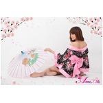 コスプレ 2011年新作 セクシー☆花柄着物コスチュームセット