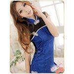 チャイナ服/チャイナドレス/ミニスカチャイナワンピ&ショーツ/コスチューム/コスプレ/衣装/f386