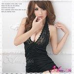 新作 胸元刺繍ブラックランジェリーセット/コスチューム/コスプレ/セクシー/ランジェリー/下着/z090