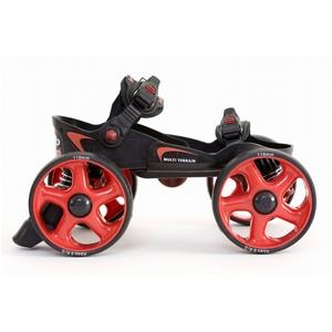 オフロード スコッピ MLT-SR Sサイズ 黒・赤 【ローラースケート】