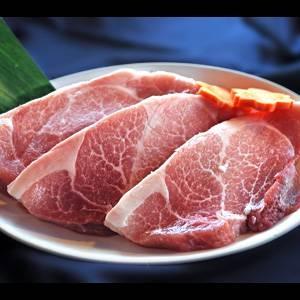 超希少!純血アグー(琉球在来種黒豚) とんかつ・ステーキ用 1kg(合計6、7枚) 箱入り 【石垣島直送】