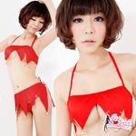 コスプレ 真っ赤な妖精ティンカーベルコスチューム f108