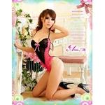 2012新作 黒×ピンク セクシーレース テディ/コスプレ コスチューム z654