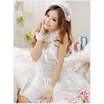 コスプレ 純白ウエディングドレス セット f408