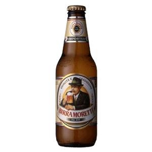 イタリア【海外ビール】 モレッティ 瓶 24本 1ケース 330ml