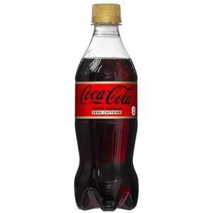 【飲料】コカ・コーラ ゼロフリー  (コカコーラ) Coca Cola Zero 500ml 1ケース(24本入)カフェインゼロ