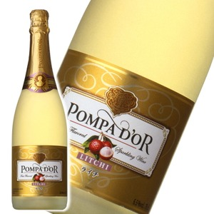 【スパークリングワイン】 ポンパドール Pompa Do'r ライチ 750ml スパークリングワイン