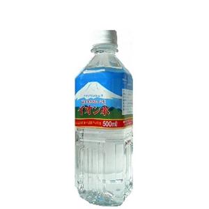 富士山のおいしい水イオン水 500ml×24本/箱 【5年保存・防災備蓄可】