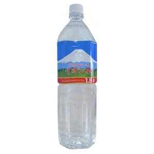 富士山のおいしい水イオン水 1,500ml×8本/箱 【5年保存・防災備蓄可】