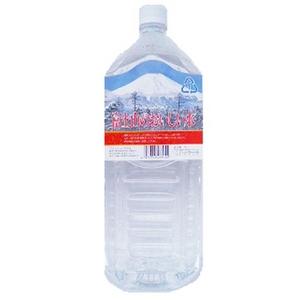 【5年保存・防災備蓄可】 富士山のおいしい水イオン水 2,000ml×6本/箱