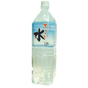 富士山のすごい水イオン水 1,500ml×8本/箱 【5年保存・防災備蓄可】