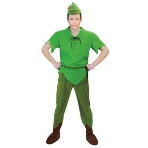 RUBIE'S(ルービーズ) DISNEY(ディズニー) コスプレ ピーターパンシリーズ Adult Peter Pan(ピーター・パン) Stdサイズ