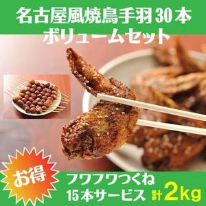 名古屋風焼鳥ボリュームセット(8〜10人前)