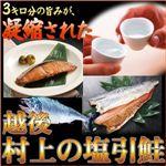 越後 村上の塩引鮭 1パック(4切入)×6セット