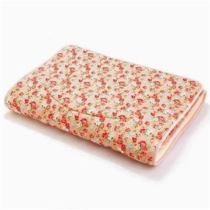 ルナエアー シングル 花柄ピンクの可愛い敷布団