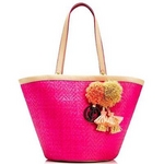JUICY COUTURE(ジューシークチュール) North Shore Lynn Tote トートバッグ Dragon Fruit