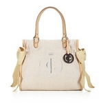 JUICY COUTURE(ジューシークチュール) Garden Gala Ms. Daydreamer ハンドバッグ Pale Linen