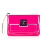 JUICY COUTURE(ジューシークチュール) Saturday Soiree Wristlet ポーチ Ultra Fuschia Multi