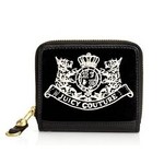 JUICY COUTURE(ジューシークチュール) New Scottie Embroidery Wallet ウォレット Black