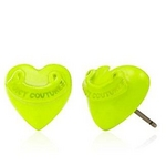 JUICY COUTURE(ジューシークチュール) Puffed Heart Studs ピアス Lemon