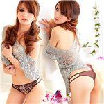 コスプレ 2011年新作 セクシーランジェリー☆花柄刺繍Tバック3枚セット z635