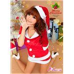 コスプレ 2012年新作 クリスマス☆サンタクロース セット/コスチューム/s020