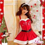 クリスマス☆サンタクロースコスプレセット/コスチューム/s007