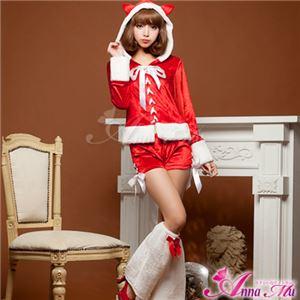 【クリスマスコスプレ】サンタクロースコスプレセット/コスチューム/s023