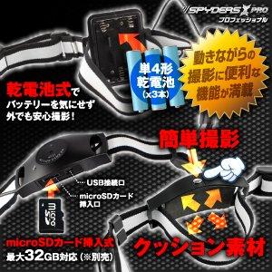 ヘルメット用マルチスパイカメラ、スパイダーズX PRO(PR-804)ヘルメットに装着して撮影!