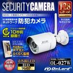 【監視カメラ】【SDカード防犯カメラ】【ネットワークカメラ】 強力赤外線LED 64GB対応 屋外 IP66相当 オンロード (OL-027W) SD録画装置内蔵 スマホ操作 プリレコードの詳細ページへ