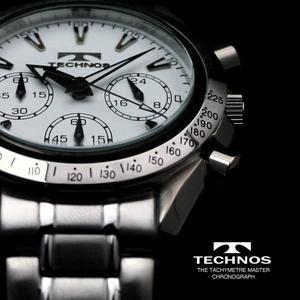 【送料無料】 TECHNOS(テクノス) クロノグラフ 限定モデル T2111SW 【メンズ 腕時計】