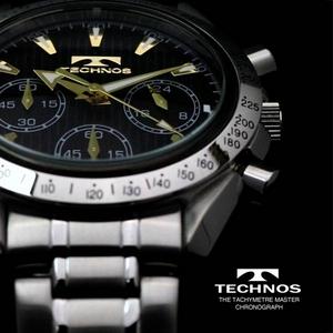 【送料無料】 TECHNOS(テクノス) クロノグラフ 限定モデル T2111SG 【メンズ 腕時計】