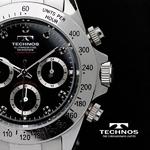 TECHNOS(テクノス) メンズ腕時計 クロノグラフ T4102SH 限定モデル