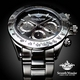 Seventh Wonder(セブンス・ワンダー) クロノグラフ メンズ 腕時計 GUNMETAL SW0192