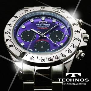 TECHNOS(テクノス) メンズ腕時計 クロノグラフ T4102SU 限定モデル