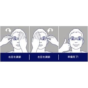 adlens(アドレンズ) エマージェンシー 【度数が調節できる眼鏡】